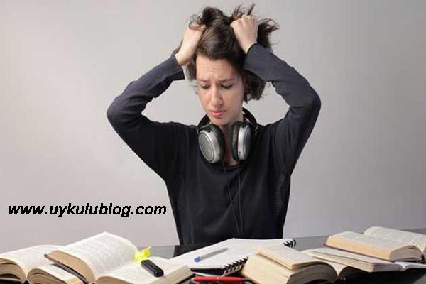 sınav stresini azaltma, sınav stresini yenme, sınav stresi ile başa çıkma